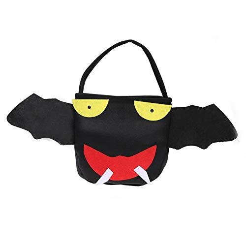 WSJKHY Halloween Halloween Kids Candy Bag Dekoration Candy Geschenkkorb Candy Handtasche Für H