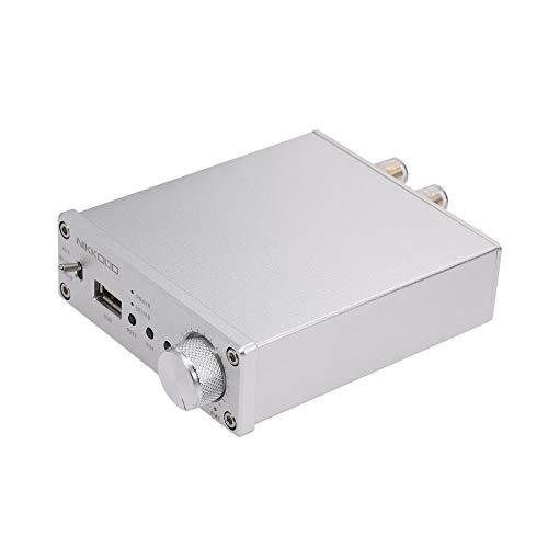 Docooler NIKKODO NK-368R Amplificatore di Potenza Audio Digitale BT 4.0 Mini HiFi Audio Receiver Amp Dual Channel 50W + 50W Con L'Adattatore Di Potere