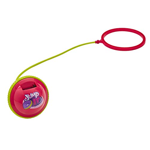 Jump it 07556 Schoßzähler Pink – Springendes Fitness-Koordinationsspielzeug mit Zähler bis zu 1.000 Runden für Indoor/Outdoor Spielen