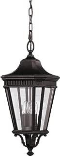 Feiss OL5411GBZ Cotswold Lane Outdoor Lighting Pendant Lantern, Bronze, 3-Light (10