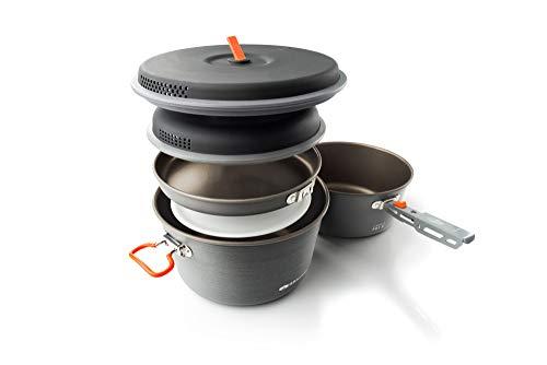 GSI Pinnacle Base Camping-Kochset für den Außenbereich, Größe L