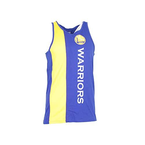 New Era NBA Wordmark Tank Golwar OTC Camiseta De Tirantes, Hombre, White, L