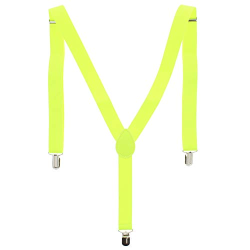 ZAC Alter Ego Bretelles ajustables unisexes Uni Largeur 25 mm - jaune -