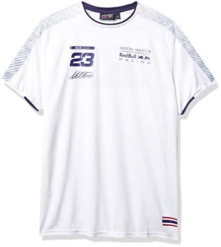 Fuel For Fans Aston Martin Red Bull Racing Sportswear T-Shirt für Herren, Formel 1, Alex Albon, Weiß, S