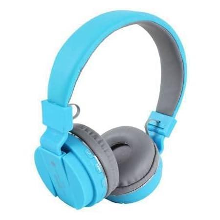 hoatzin Thunder Beat Wireless Bluetooth Over the Ear Headphone (Blue)