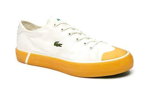 Lacoste Women's Gripshot CFA Sneaker, White/Gum, 7 Medium US
