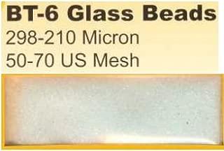 BLAST-O-LITE BT-6 Glass Bead Media, 50-70 Mesh (50 lbs)