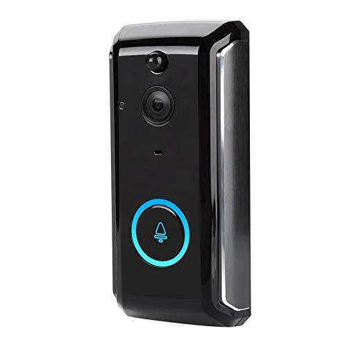 Pwshymi Timbre Elegante de WiFi del Timbre de la cámara, para la Seguridad en el hogar, para 720P