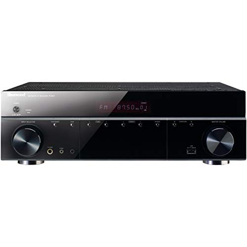 Sherwood R-607 5.1 Audio Video Receiver with Front Panel USB (Renewed)