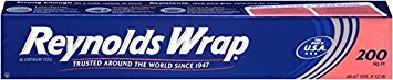 Reynolds Wrap Aluminum Foil (200 Square Foot Roll) - Pack of 2