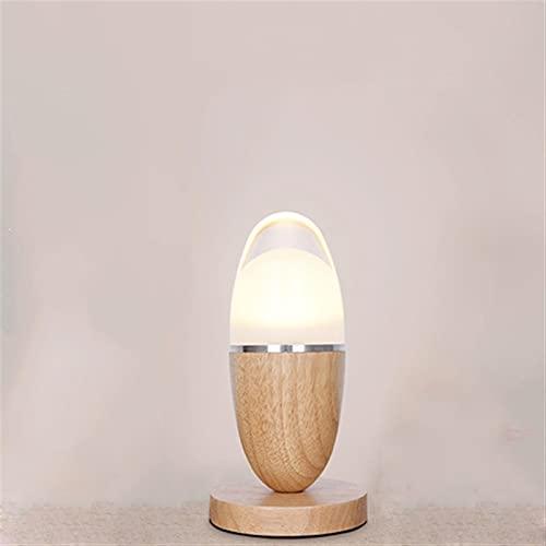 Sggainy Moderno Minimalista Pequeña Mesa Lámpara Huevo Modelado LED Pequeño Escritorio Luces Dormitorio Pequeño Estudio de Luz de Noche Protección de Ojos Luces Luces de Mesa