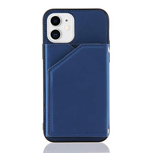 Schutzhülle für iPhone 11 (6,1 Zoll), Kreditkartenfächer, Blau