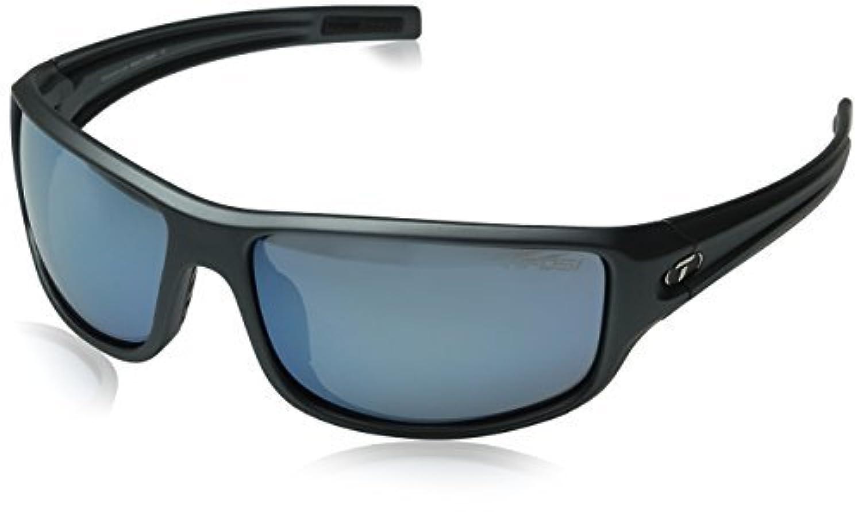 Tifosi Bronx 1260407481 Wrap Sunglasses Matte Gunmetal 64 mm [並行輸入品]