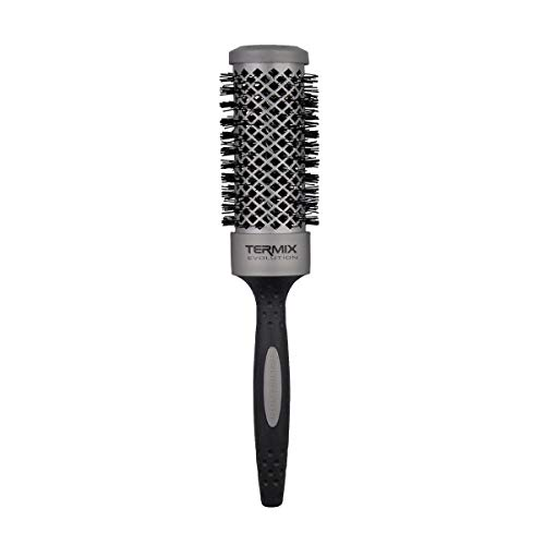 Termix Evolution Basic Ø37-Cepillo térmico redondo con fibra ionizada de alto rendimiento, especial para cabellos de grosor medio. Disponible en 8 diámetros y en formato Pack.