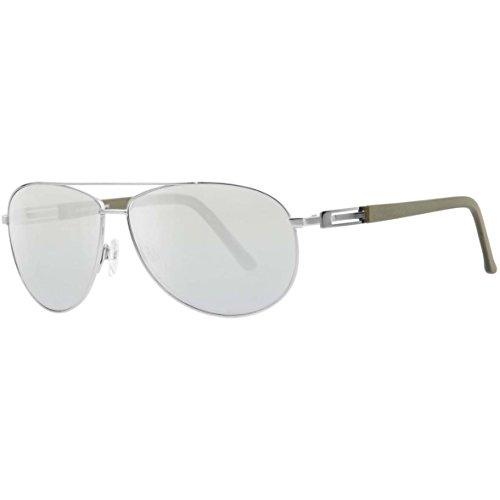 Rodenstock R1398 Rodenstock zonnebril R1398 Aviator zonnebril 63, goud