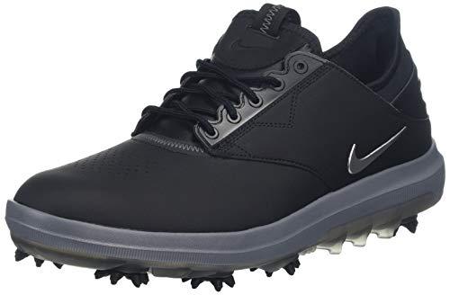 Nike Men's Air Zoom Direct Golf Shoes (10 M US, Black/Metallic Silver)