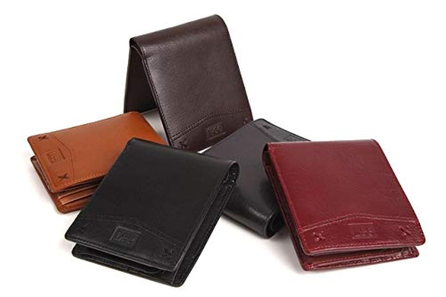 借りている雇うかりて[リー] 財布 メンズ 本革 二つ折り 小銭入れあり コインケースあり 0520312