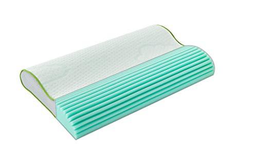 Träumeland T065001 Kinderkissen Basic - atmungsaktives und mitwachsendes Kissen für optimalen Schlafkomfort, Mehrfarbig