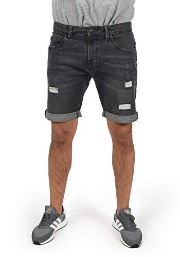 INDICODE Hallow - patalón baquero corto para Hombre, tamaño:M, color:Dark Grey (910)