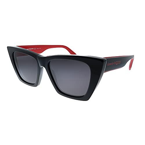 Alexander McQueen Occhiali da Sole AM0299S Black Red/Grey 54/16/145 donna