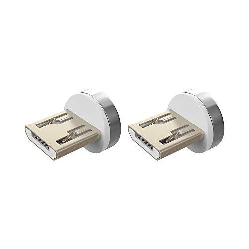 NetDot 12th Generación Conectores Micro USB sin Cables(2 Pack)