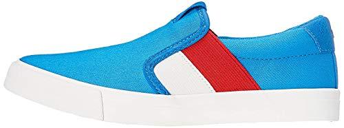 RED WAGON Jungen Slipper im Skater-Style, Blau, Blau (Blue),30.5 EU (12 UK)