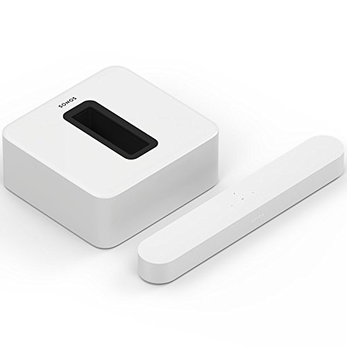 Sonos Beam WLAN Soundbar Speaker | Heimkinoset (3.1 (Beam + Sub), weiß)