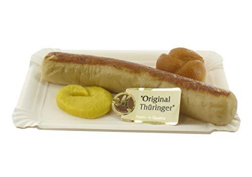Odenwälder Marzipan Thüringer Bratwurst mit Senf 100g