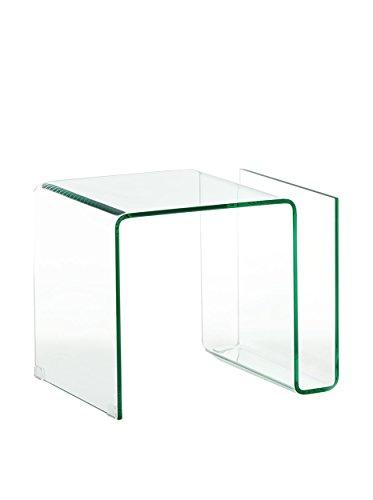 Wink Design, Magazine, Tavolino, Trasparente, 48 x 38 x 40 cm