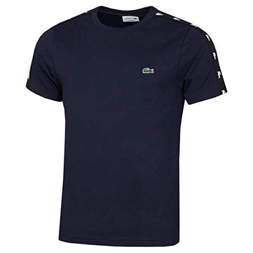 Lacoste TH5172 T-Shirt, Marine/Noir, 3XL Homme