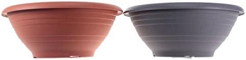 N//A Pflanzschale Cortina /Ø40cm Grabschale Kunststoff Blumenk/übel Blumenschale Gef/ä/ß Farbe:Terracotta
