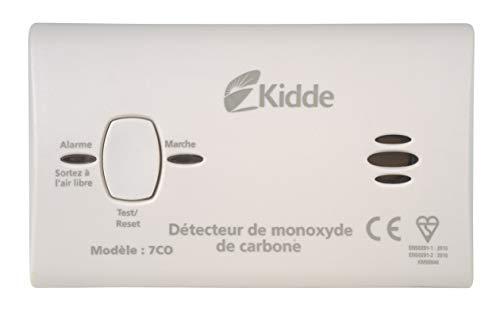 Kidde KIDK745 Carbon Monoxide, Blanc