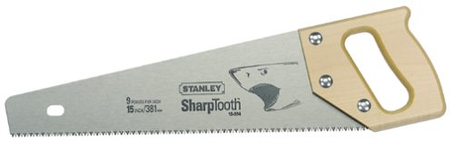 Stanley Sharptooth Saw for Effortless Rip Cutting