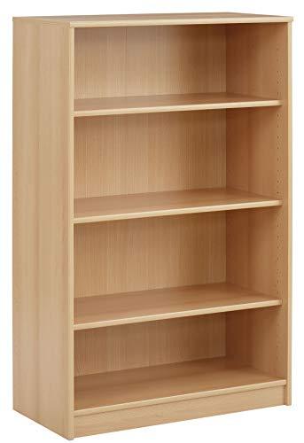 MAJA-Möbel 1833 5531 Regal, Buche-Nachbildung, Abmessungen BxHxT: 72,2 x 112,2 x 35 cm