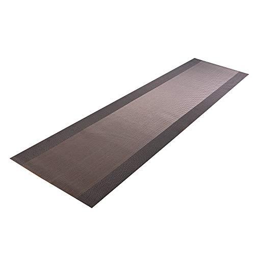 SMILINGGIRL Rectangle Tissé en PVC Chemin De Table Lavé Rapidement Et Facilement Nettoyé,30 * 200cm