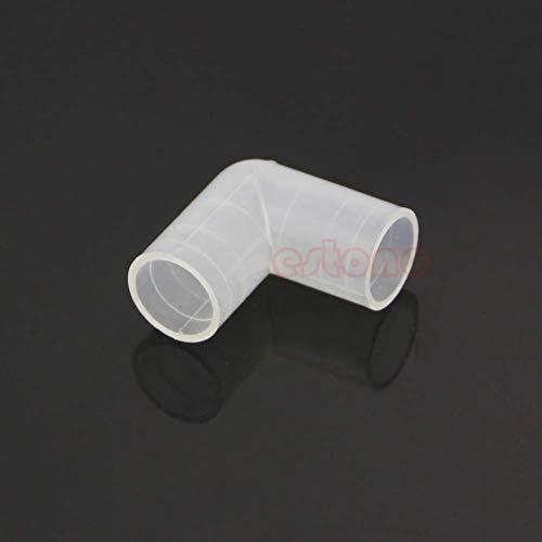 SimpleLife groothandel 16mm 90 ° gelijkmatige aansluiting voor aquarium elleboog tank waterslang buis