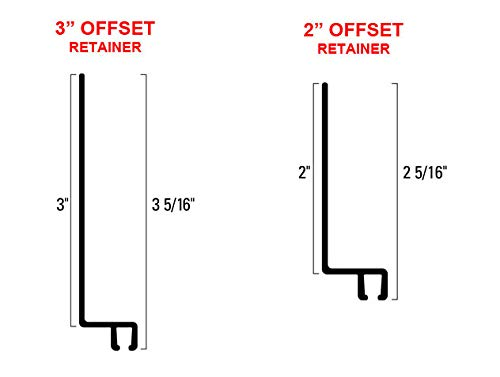 Great Features Of Brush Seal Retainer Offset (Retainer 3 Offset, 8-55 Retainer Length)