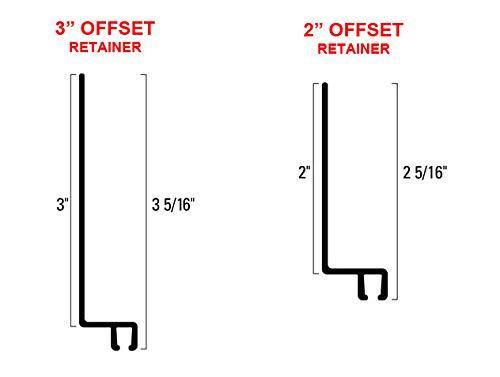 Best Price Brush Seal Retainer Offset (Retainer 3 Offset, 10-55 Retainer Length)