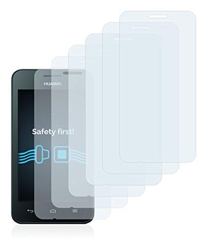 Savvies 6X Schutzfolie kompatibel mit Huawei Ascend Y330 Displayschutz-Folie Ultra-transparent - 2