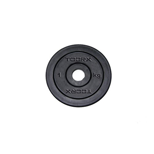 Toorx Disco Ghisa gommato Kg 0,5 - 25 mm