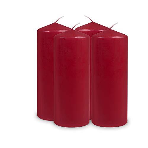 Müller Kerzen, Candela 2012008047, Rosso (Rot)