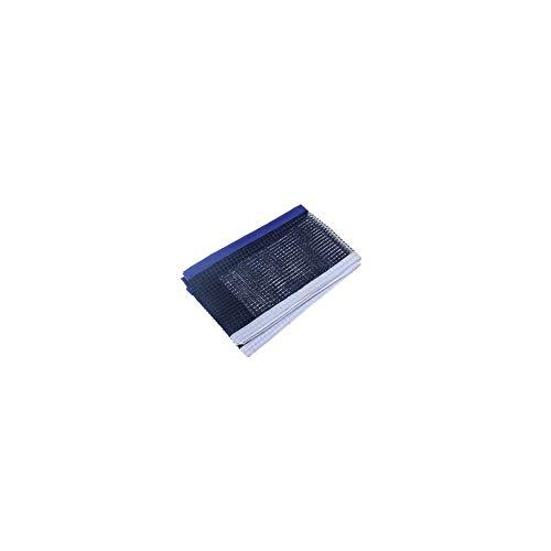 Tragbarer Tischtennisnetz Durable Ersatz Wasserdicht Ping Pong Net zusammenklappbares Tischtennis Zubehör Blau