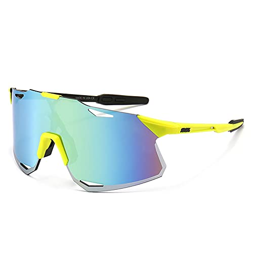 Rimless Cycling Sunglasses, Outdoor Sports Glasses, Windproof and UV-proof Mountain Road Bike Sunglasses C2