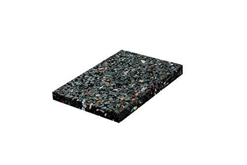 24x Terrassenpads [20mm] 60x90 in unterschiedlichen Stärken aus Gummigranulat - verwendbar als Poolunterlage, Bautenschutzmatte - Gummimatte Pads als Unterlegplatten (Gummiunterlage)
