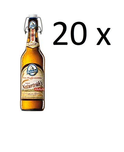 20 Flaschen Mönchshof Kulmbacher Naturtrüb Orginal Alkoholfrei 0,0% l a 0,5L inc. 3.00€ MEHRWEG Pfand