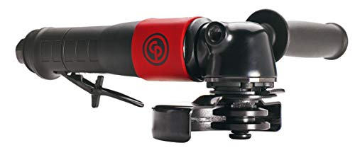 Chicago Pneumatic CP7545-B Heavy Duty Air Angle Grinder with 4-1/2-Inch Wheel Capacity, 5/8-Inch-11 Spindle Thread, 12,000 RPM (8941075452)