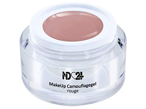 Make Up Camouflage Aufbau - Gel Rouge - Babyboomer- Studio Qualität - Made in Germany - 15ml