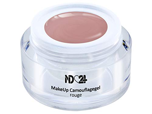 15ml - Make Up CAMOUFLAGE Aufbau - Gel rouge - BESTSELLER - BabyBoomer Naildesign UV/LED Gelnägel...