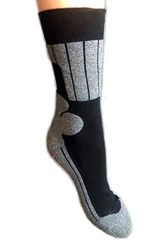 Sockenprofi Markenqualität 3 Paar Skatersocken Sportsocken Funktionsocken Trekkingsocken + 1 Zauberstern für die Torte (39/42)
