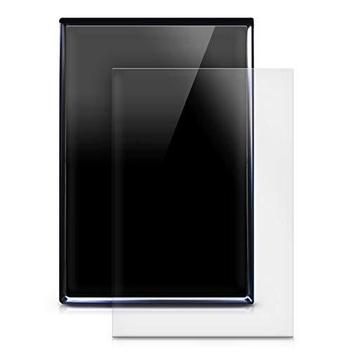 kwmobile 2X Navi Folie kompatibel mit Tesla Model S - Schutzfolie für Festeinbau-Navigationsgerät - Displayfolie matt transparent